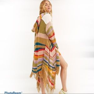 Free People Beach Party Duster Cardigan NWT